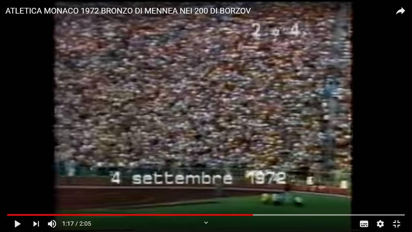 Foto finale Olimpiadi 200 metri Monaco 4 Settembre 1972