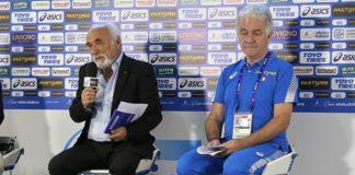 Alfio Giomi - Antonio La Torre - Casa Atletica Italiana Doha (Foto Fidal )