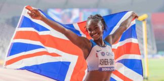 Dina Asher-Smith (Foto TheSun.co.uk)