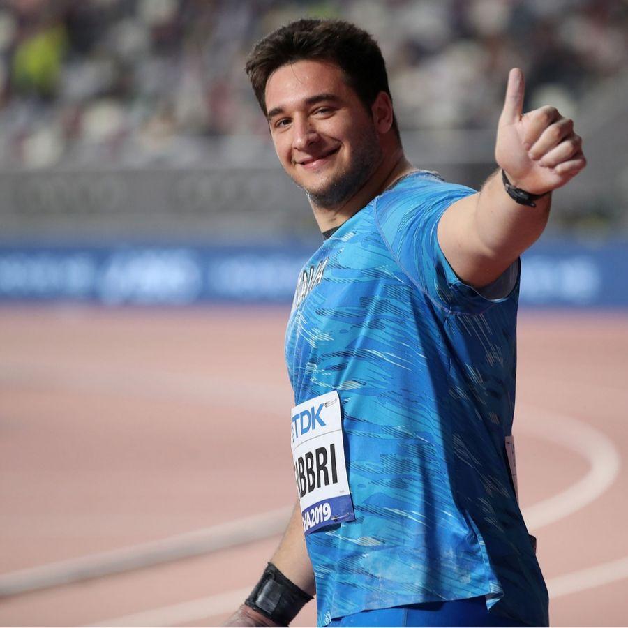 Leonardo Fabbri Doha (Foto Colombo Fidal)