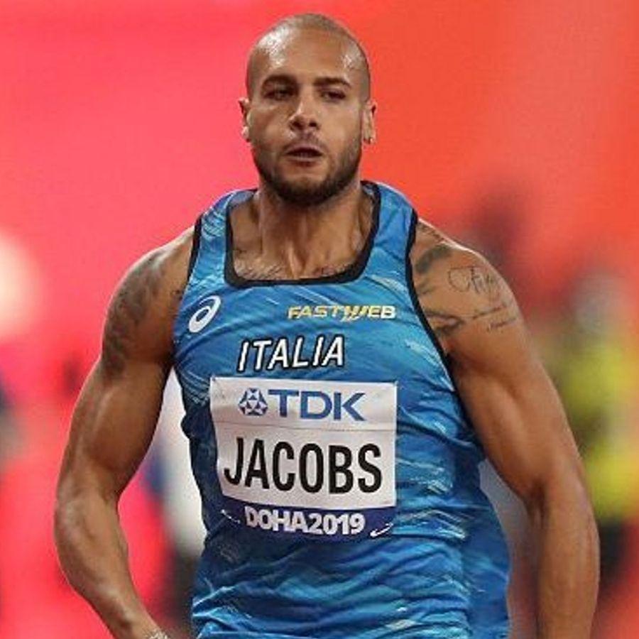 Marcell Jacobs Doha (Foto Colombo Fidal)