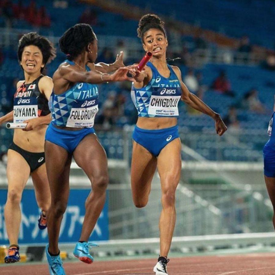 Staffetta 4 x 400 femminile (Foto Fidal)
