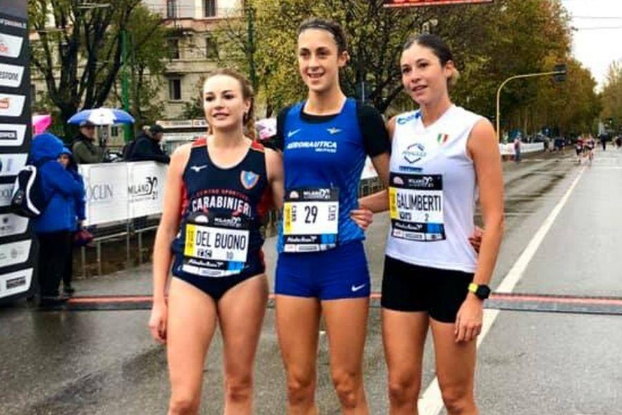 Federica Del Buono - Francesca Bertoni - Sara Galimberti (foto organizzazione)