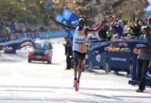 Geoffrey Kamworor (foto maratona New York 2019)