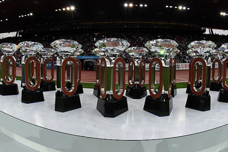 Trofei Diamond League (foto diamondleague.com)