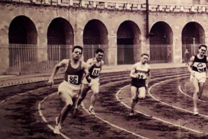 200 metri Arena di Milano (foto d'epoca)