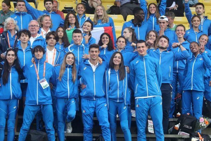 Azzurri Under 20 - Boras (foto Colombo Fidal)
