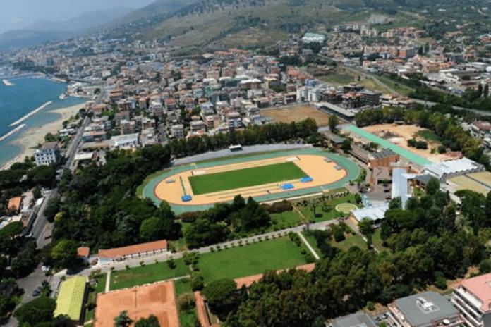 Centro Federale di Formia (vista dall'alto)