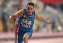 Filippo Tortu - Doha (Foto Colombo Fidal)