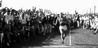 Jessie Owens 25 maggio 1935 (foto d'epoca)