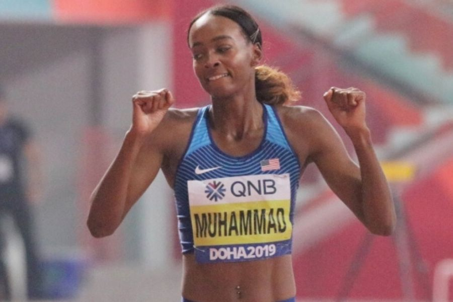 Dalilah Muhammad (foto flotrack.com)