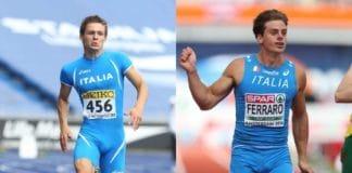 Giovanni Cellario-Massimiliano Ferraro (foto Fidal)