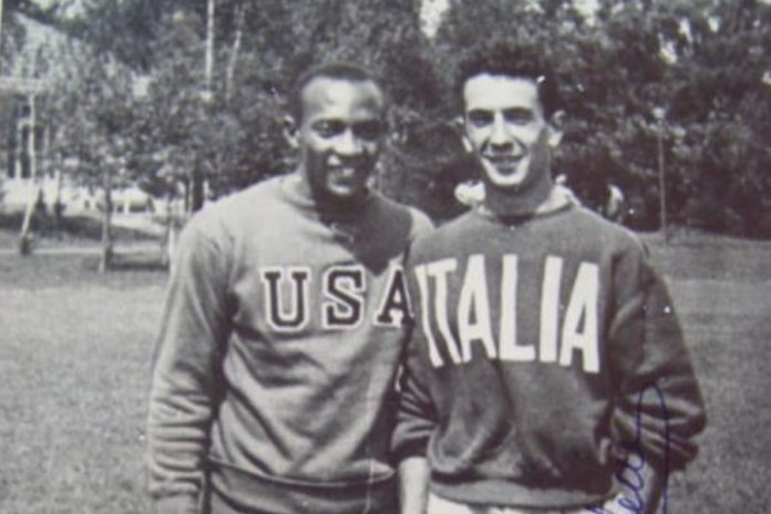 Jesse Owens - Arturo Maffei (foto d'epoca)