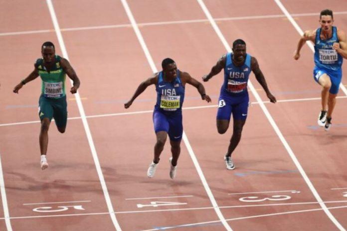 Finale 100 metri Doha
