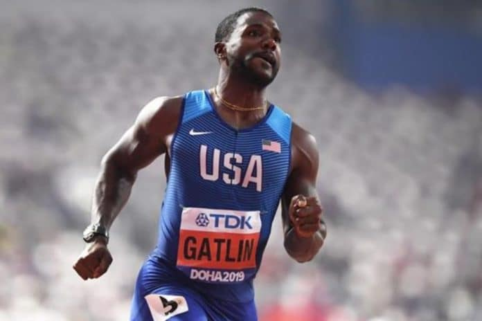 Justin Gatlin (foto world athletics)