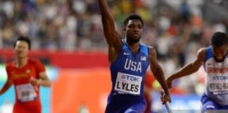 Noah Lyles (foto Getty Images)