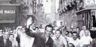 Pino Dordoni (foto d'epoca 1952)