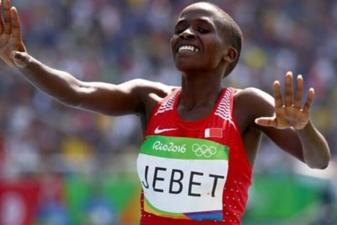 Ruth Jebet (foto Getty Images)