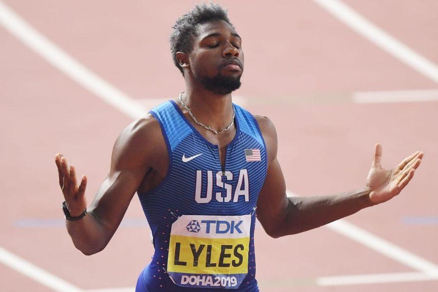 Noah Lyles (foto Olympic Channel)