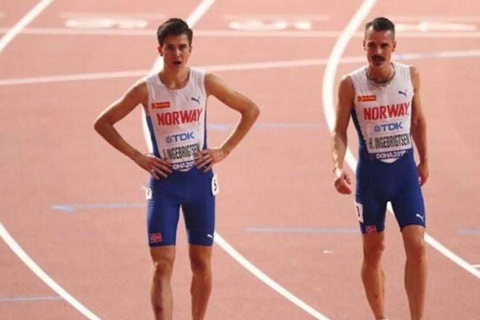 Jacob e Henrik Ingebrigtsen (foto Getty Images)