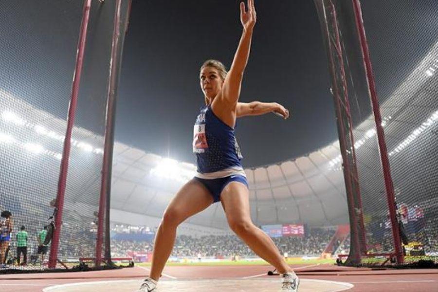 Sandra Perkovic (foto World Athletics)