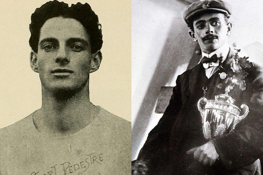 Emilio Lunghi - Dorando Petri (foto archivio epoca)