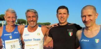 Atleti master over 50 (foto archivio)