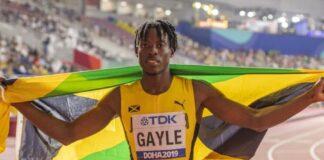 Tajay Gayle (foto world athletics)