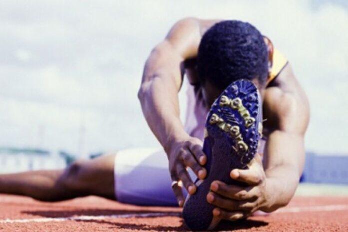 Stretching (foto archivio free)