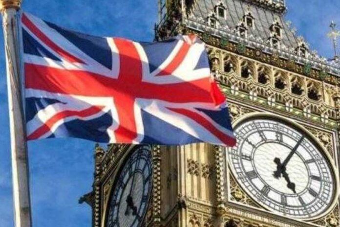 Bandiera Regno Unito (foto archivio)