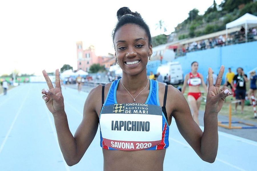 Larissa Iapichino (foto Giancarlo Colombo)