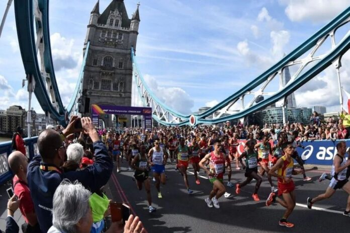 Maratona Londra (foto archivio)