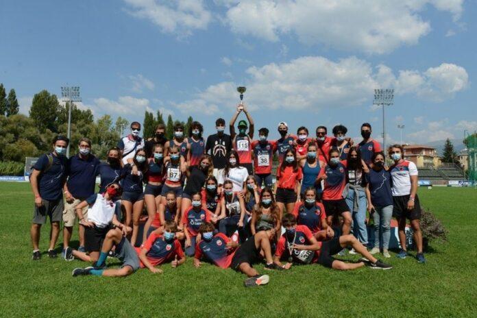Squadra Atletica Milardi (foto Grana/FIDAL)