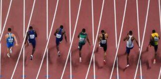Finale 100 metri Doha 2019 (foto W.A.)