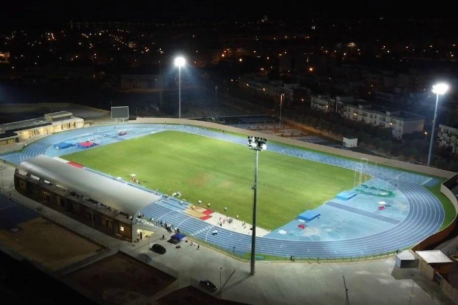 Stadio Atletica Molfetta (foto con drone)