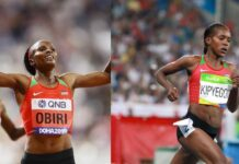 Hellen Obiri-Faith Kipyegon (foto archivio)