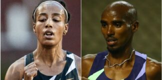 Sifan Hassan-Mo Farah (foto world athletics)