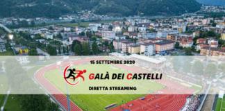 Diretta streaming Galà dei Castelli