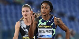 Elaine Thompson (foto Colombo/FIDAL)