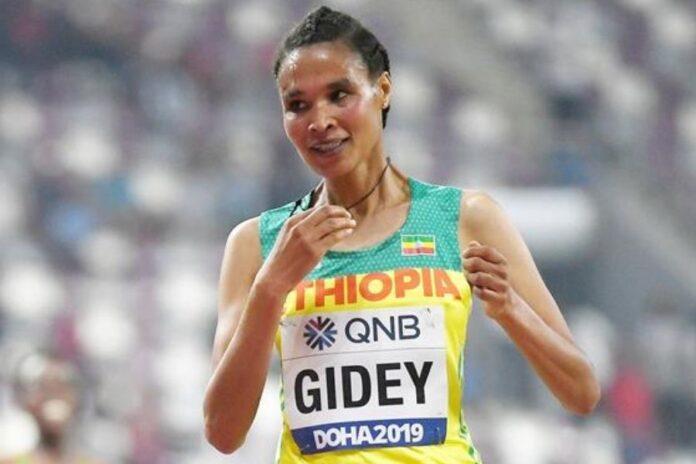 Letesenbet Gidey (foto world athletics)