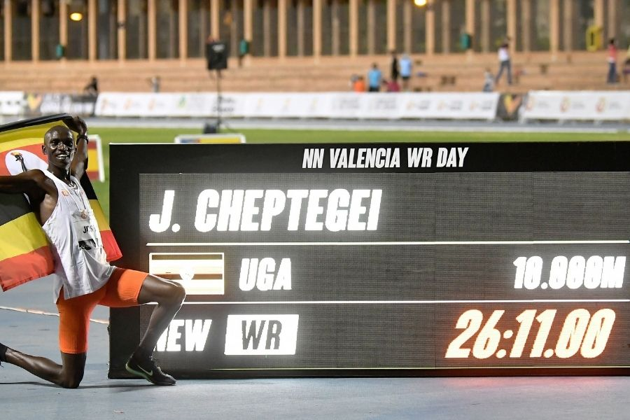 Joshua Cheptegei (foto organizzatori)