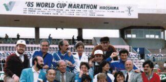 Hiroshima Coppa del Mondo 1985 foto archivio FIDAL)
