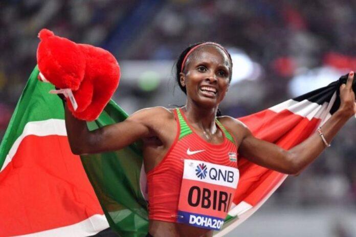 Hellen Obiri foto world athletics)