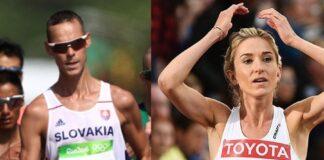 Matej Toth - Karoline Grovdal (foto world athletics)