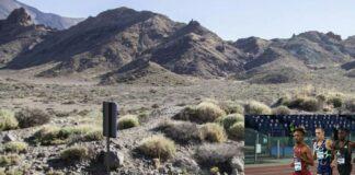 Scenario vulcano Teide-Yeman Crippa (foto archivio)