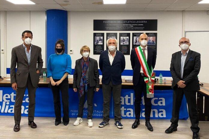 Delegazione italiana (foto FIDAL)