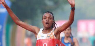 Tsehay Gemechu (foto Athletics Illustrated)