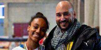Larissa e Gianni Iapichino foto personale gentilmente concessa)