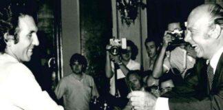 Enzo Rossi - Primo Nebiolo (foto archivio FIDAL)
