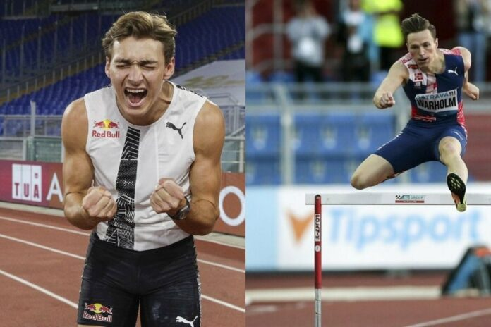 Duplantis-Warholm (foto world athletics)